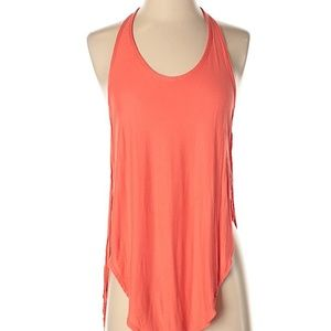 We the Free | Orange Scoop Neck Tank Top